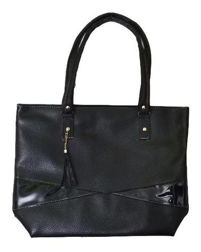 Imagen 1 de 1 de Bolso Plus Danna Negro Grande Premium