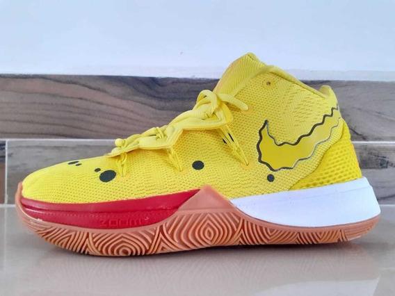 Tenis Nike Kyrie 5 Bob Esponja Envio Gratis