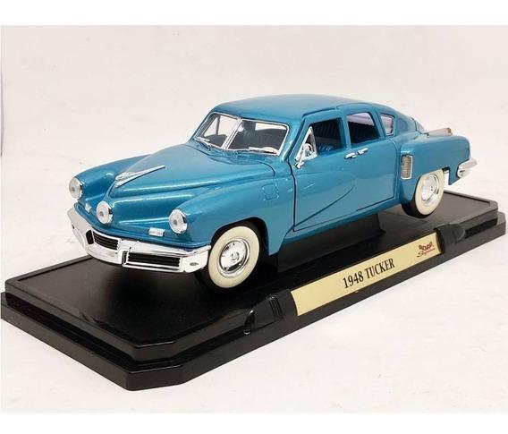 Miniatura Carro Tucker Torpedo 1948 Azul 1:18 Yat Ming 92268