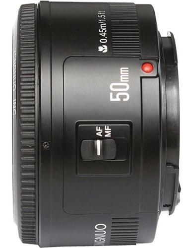 Imagem 1 de 3 de Lente Yongnuo Yn 50mm F / 1.8 Para Câmeras Canon Ef