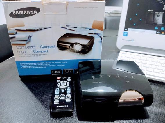 Projetor De Led Samsung Sp-p410m