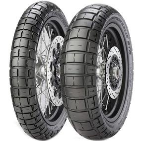 Par Pneu Crf 90/90-21 + 150/70r18 Scorpion Rally Str Pirelli