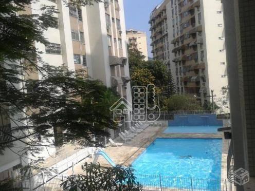 Apartamento Residencial À Venda, Fonseca, Niterói. - Ap1861