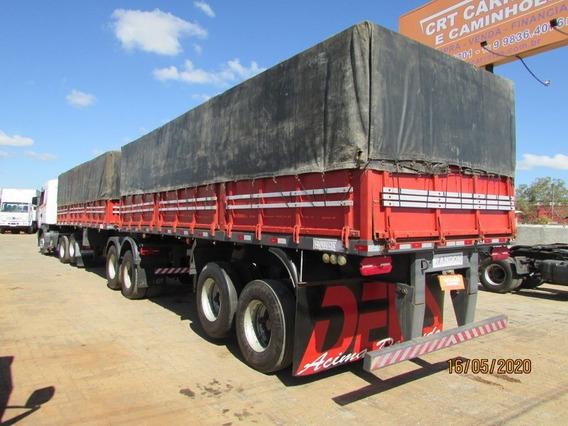Carreta Bitrem Graneleiro 7,50m C/ Pneus Randon