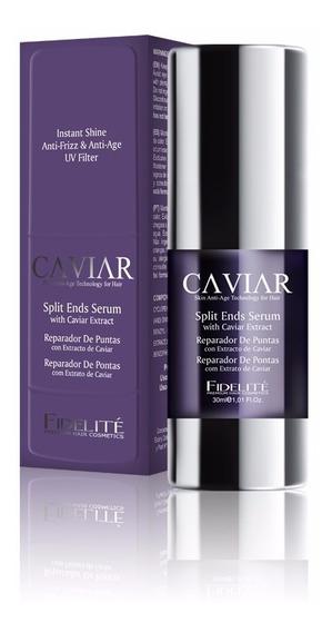 6 Serum Reparador De Puntas Con Extracto Caviar 30 Fidelite