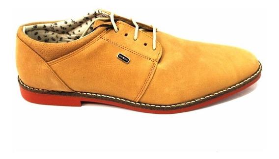 Zapato Vestir Cuero Hombre Con Cordón Art 940. Marca Bando