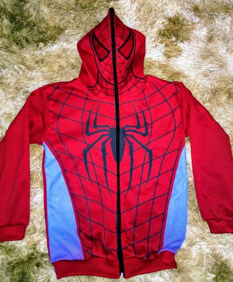Blusa De Frio Homem Aranha