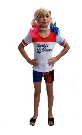 Harley Quinn Arlequina Camiseta + Shorts