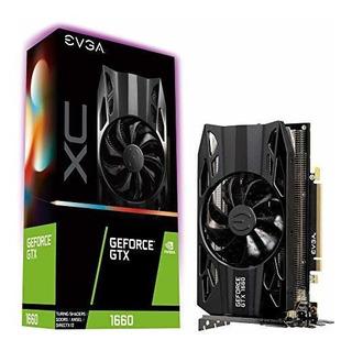 Evga Geforce Gtx 1660 Xc Juego Negro 6 Gb Gddr5 Ventiladores