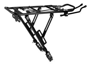 Porta Paquetes Bicicleta Para Freno A Disco Aluminio Gmstore