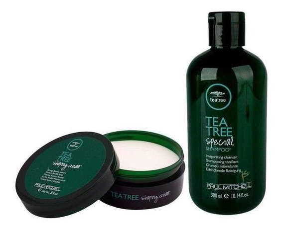 Kit Shampoo Tea Tree Special + Shaping Cream