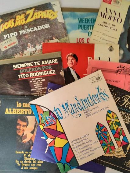 Discos Lp Vinilos Usados - Artistas Varios - Lote 1