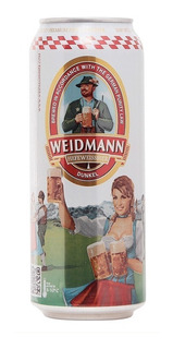 Cerveza Weidmann Dunkel Lata 500ml - Perez Tienda -