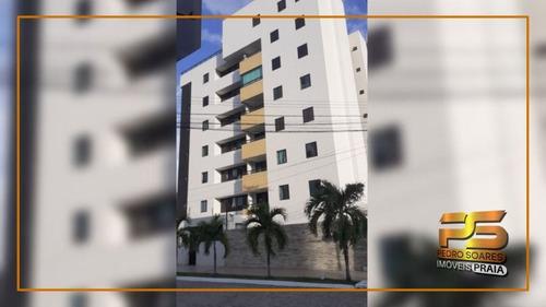 Imagem 1 de 16 de Apartamento Com 2 Dormitórios À Venda, 64 M² Por R$ 270.000 - Bessa - João Pessoa/pb - Ap5142