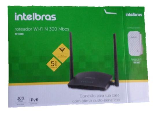 Roteador Wi-fi Intelbras Lançamento Rf 301k