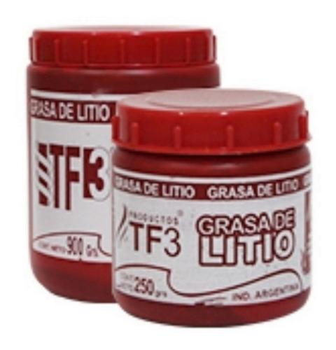 Grasa De Litio Roja Tf3 X 4 Kilos