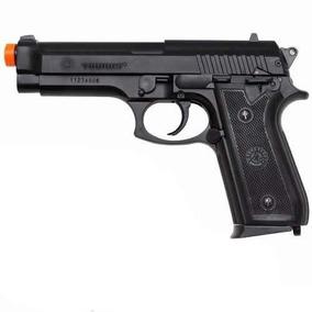 Pistola Airsoft Pt92 Spring Abs 6mm Cybergun