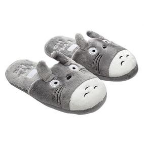 Pantuflas De Totoro Unisex Moda Kawaii Japón Con Regalo