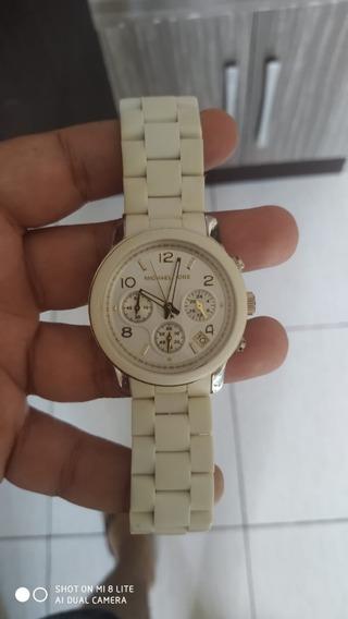 Relógio Michael Kors Branco Feminino
