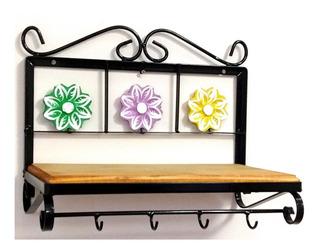 Prateleira Artesanal 40x30x20 Flores