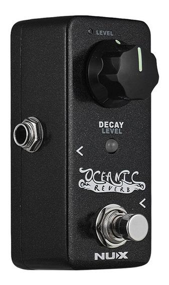 Pedal Mini Nux Nrv-2 Reverb Oceanic 9v + Nf