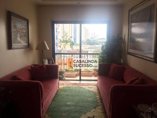 Imagem 1 de 17 de Apartamento Com 3 Dormitórios À Venda, 85 M² Por R$ 650.000,00 - Tatuapé - São Paulo/sp - Ap6059