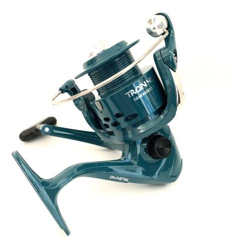 Imagen 1 de 10 de Reel Frontal Tech Tron 3 Rulemanes Pesca Pejerrey Spinning