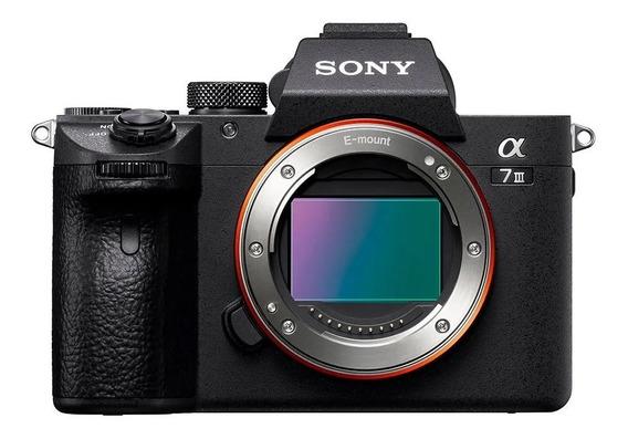 Câmera Sony Alpha 7iii C/ Lente 28-70mm E 2 Baterias