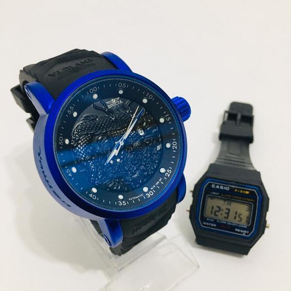 Relógio Invicta Yacuza S1+frete Grátis+1 Relógio De Brinde