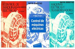 3 Libros-pdf- De Maquinas Eléctricas Y Transformadores Kosow