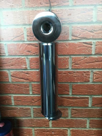 Bituqueira Em Aço Inox 430 Moderninha