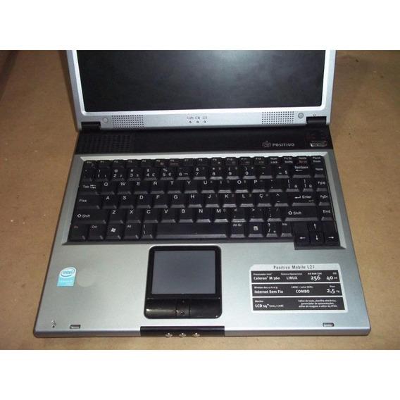 Notebook Positivo L21 (c/ Defeito, P/ Retirada De Peças) C55
