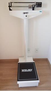 Balança Antropométrica Welmy 104a 300 Kg Retirar Em Bh