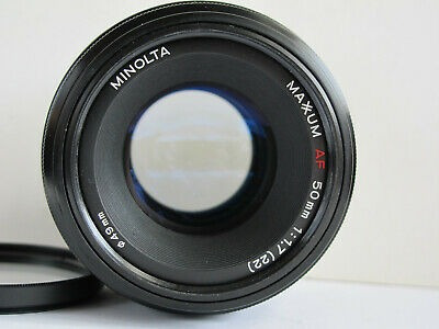 Lente Sony Alpha Minolta 50mm F1.7 A-mount