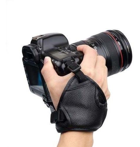 Alça Canon Correia De Mão Hand Strap Slim Grip Câmeras Dslr