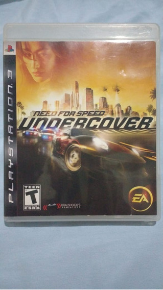Need For Speed Undercover - Mídia Física - Ps3