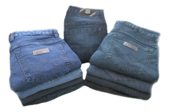 Calça Jeans Masculina Tradicional Oferta - 36 A 66 ( Tj1 )