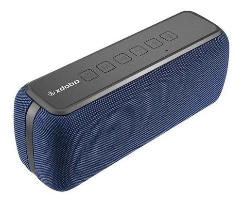 Bocina Xdobo X8 portátil con bluetooth azul