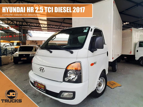 Hyundai Hr 2.5 Tci Diesel 2017 Baú