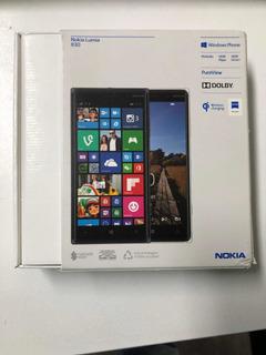 Nokia Lumia 830 - Windows + Sdcard 8gb Capa E Caixa