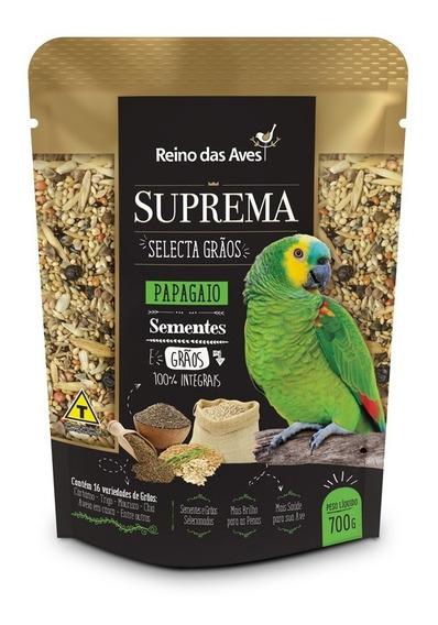 Kit 3 Suprema Selecta Grãos Papagaio 700gr - Reino Das Aves