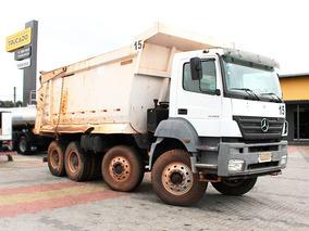 Mb 4144 8x4 2009 Caçamba Meia Cana - Preço De Custo