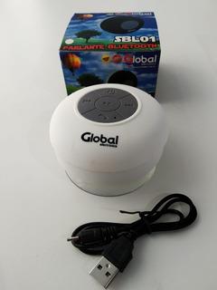 Parlante Bluetooth A Prueba De Agua Redondo