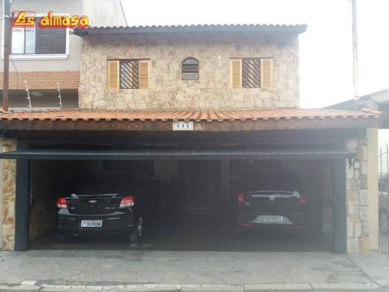 Sobrado Com 3 Dormitórios À Venda, 145 M² Por R$ 870.000 - Vila Rosalia - Guarulhos/sp - So0160