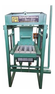 Maquina De Fabricar Blocos De Concreto Manual - Qualy