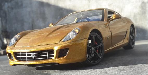 1:18 Ferrari 599 Gtb Fiorano Hot Wheels Elite Modificada