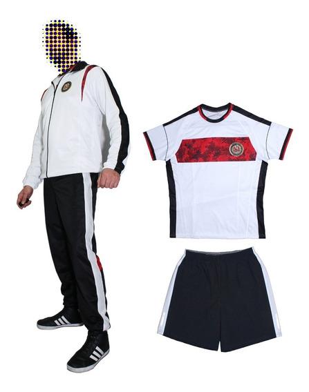 Conjunto Ejercito Nacional. Sudadera Y Uniforme Deportivo.