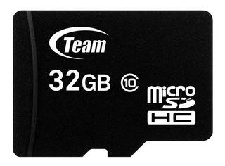 Memoria Micro Sd Team Group 32gb Clase 10 Nueva Celular
