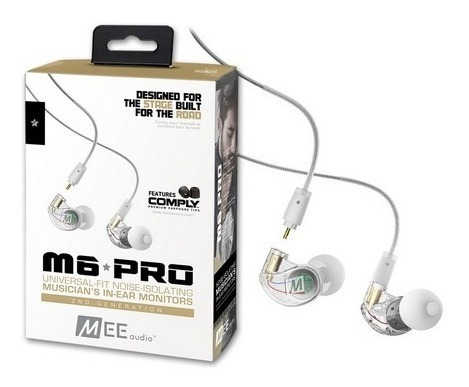 Fone In-ear Mee Audio M6 Pro Clear Retorno Oferta + Nf