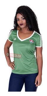 Nova Camisa Fluminense Feminina 2015 Verde adidas Oficial